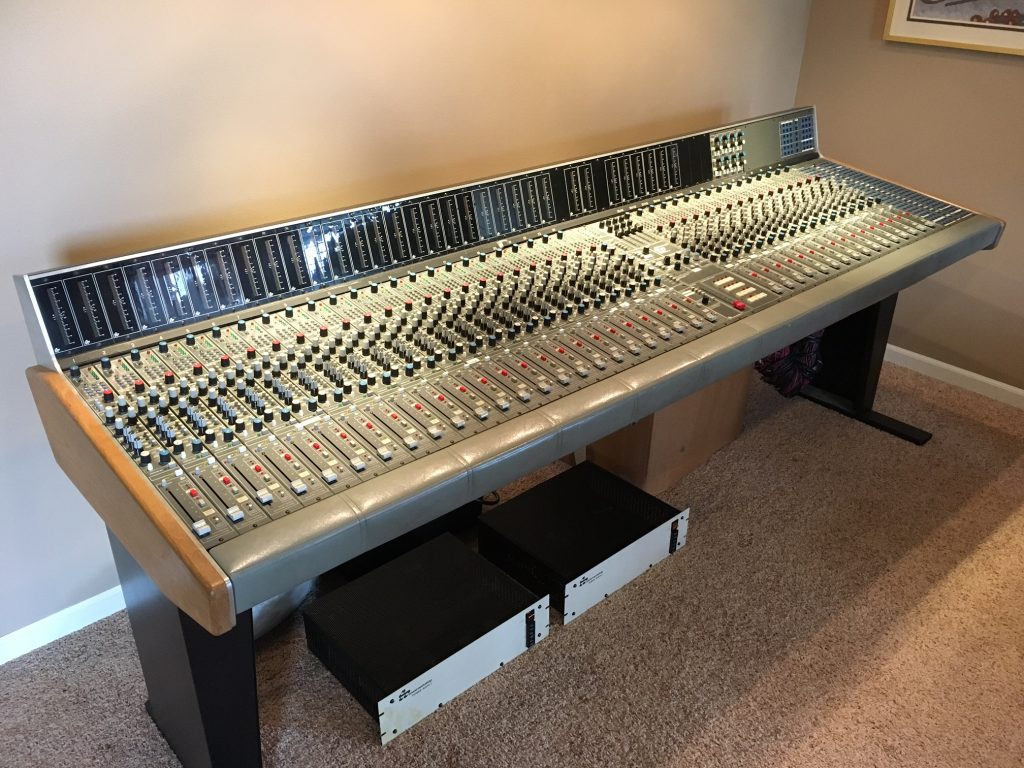 Sound Workshop Series 34 console