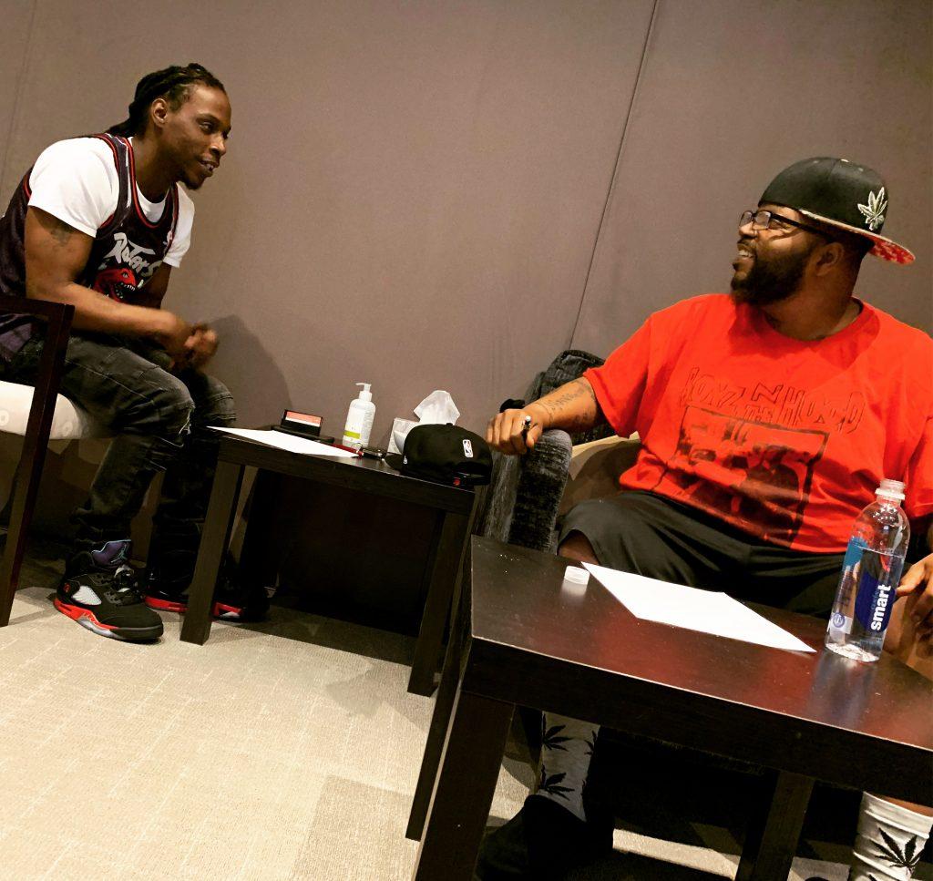 CJ & Pluto writing R&B